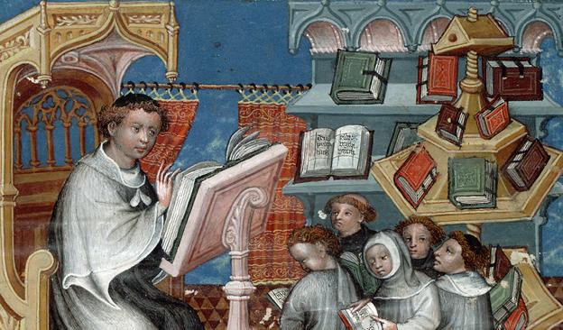 Colloque international : «Les bibliothèques à l'âge du manuscrit. Orient et Occident»